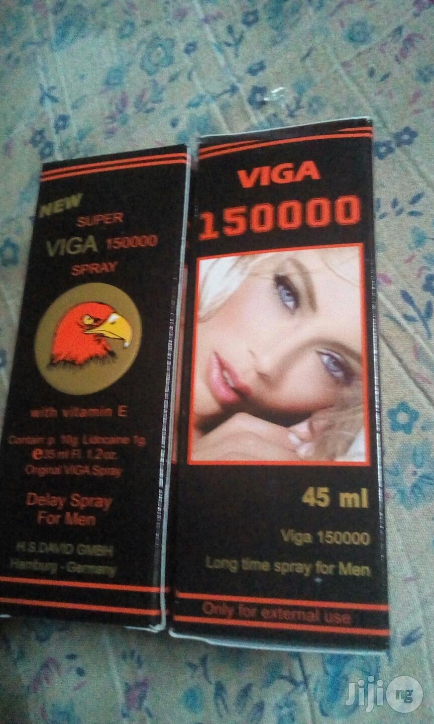Super Viga 150000 Penis Spray For Longlasting | Sexual Wellness for sale in Lagos State, Nigeria