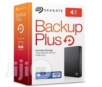 Seagate Backup Plus Slim 4TB Portable External Hard Drive