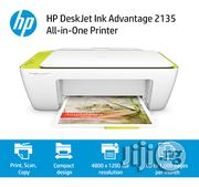 HP Deskjet Ink Advantage 2135 All-In-One Printer | Printers & Scanners for sale in Lagos State, Ikeja