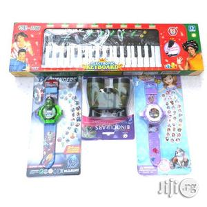 Kids Piano With Microphone + the Avenger + Sofia | Toys for sale in Lagos State, Surulere