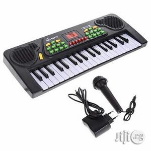 Kids Electronic Key Board And Microphone Set | Toys for sale in Plateau State, Jos