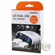 Haweel 3.4A LED Intelligent Car Charger & Battery Voltage Monitor   Vehicle Parts & Accessories for sale in Lagos State, Ikeja