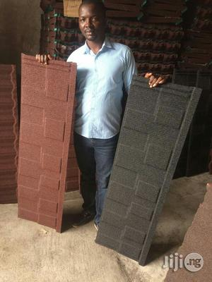 Black and Red Shingle Stone Coated Roofing Tiles Lagos   Building & Trades Services for sale in Lagos State, Lekki