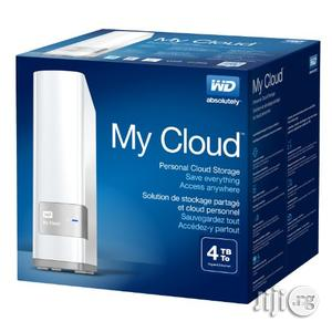 WD 4TB My Cloud Personal Network Hard Drive   Computer Hardware for sale in Lagos State, Ikeja