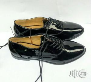 Atmosphere Black Glossy Leather Shoe for Boys | Children's Shoes for sale in Lagos State, Lagos Island (Eko)