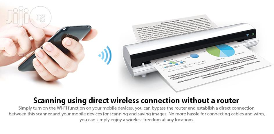 Mustek Iscan Air A4 S400W Wireless Scanner