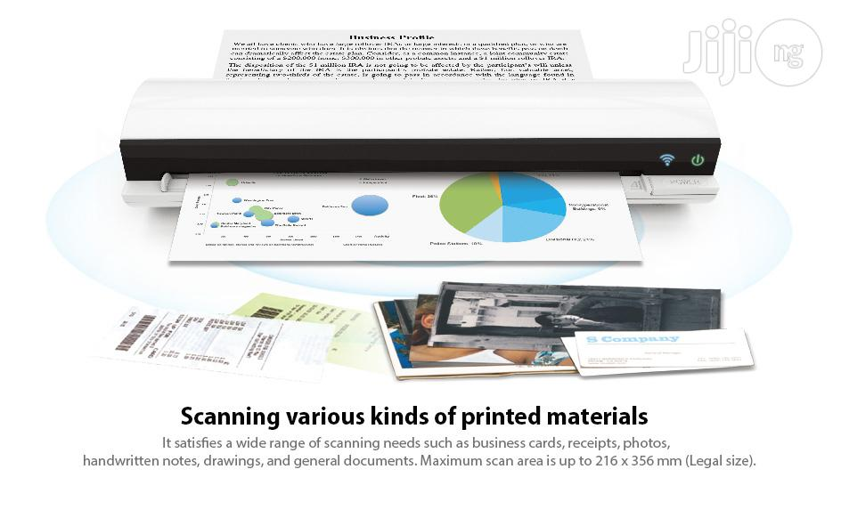 Mustek Iscan Air A4 S400W Wireless Scanner | Printers & Scanners for sale in Port-Harcourt, Rivers State, Nigeria