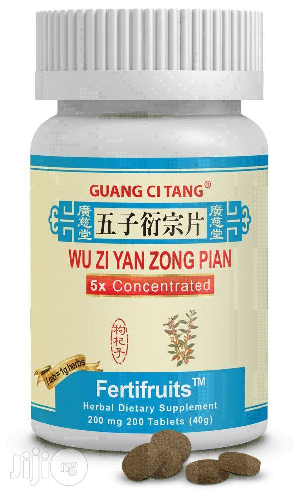 Fertifruits (Wu Zi Yan Zong Pian) For Male Infertility Problems