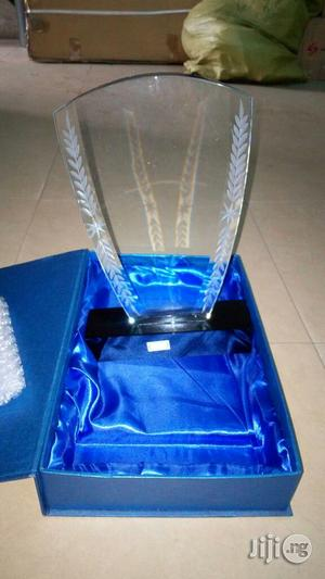 Crystal Glass Award   Arts & Crafts for sale in Lagos State, Ikeja