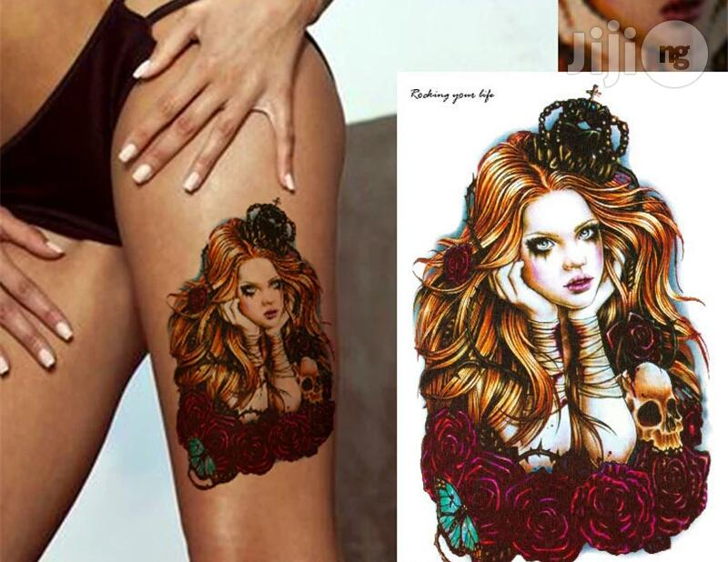 Queening 3d Temporary Body Art Tattoo In Shomolu Health Beauty Services Maestro Makeover Jiji Ng In Shomolu Health Beauty Services From Maestro Makeover On Jiji Ng