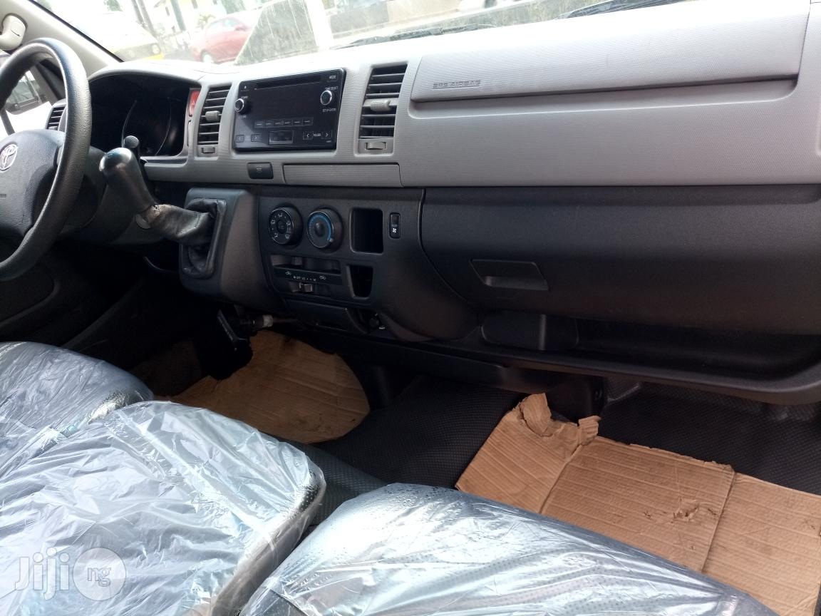 Archive: A Clean And Sound Toyota Hiace 2014 White