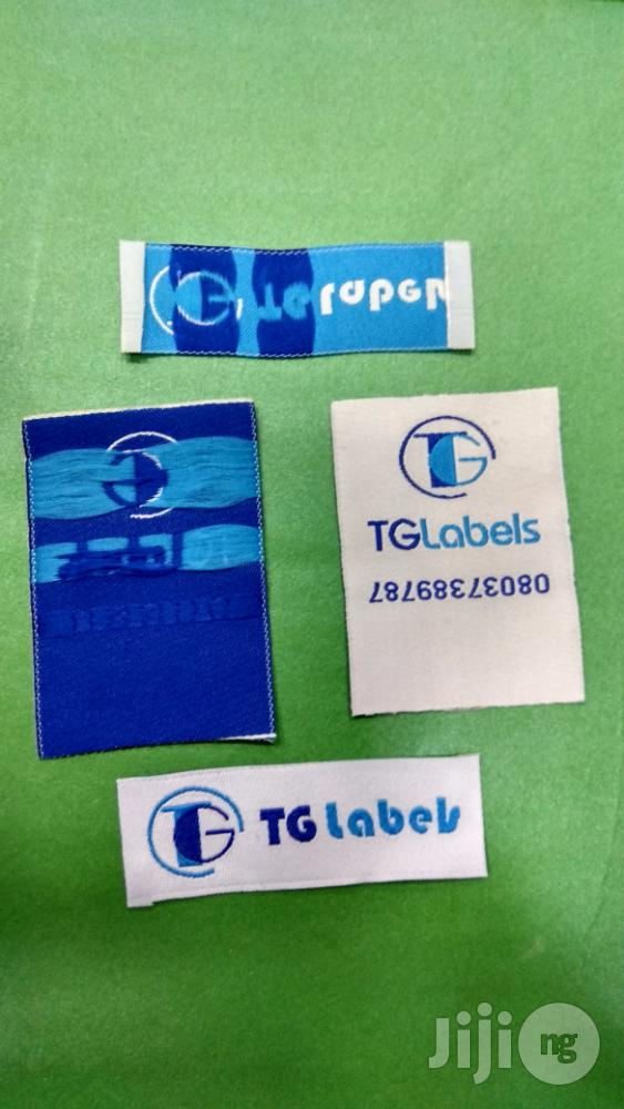 Woven Clothing Label | Manufacturing Services for sale in Surulere, Lagos State, Nigeria