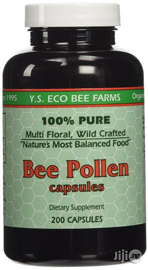 Y.S. ECO Bee Farms 100% Pure Bee Pollen 1,000mg- 200 Capsules   Vitamins & Supplements for sale in Lagos State