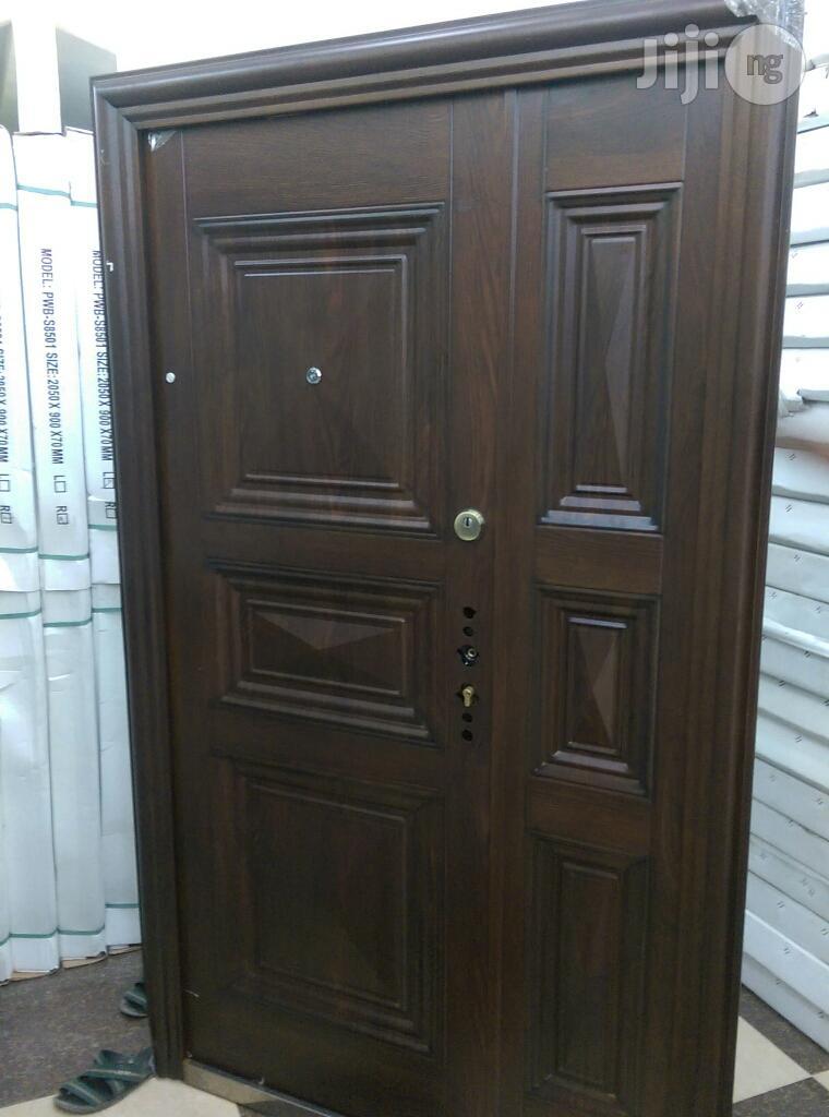 4ft Wide German Security Steel Door | Doors for sale in Lagos State, Nigeria