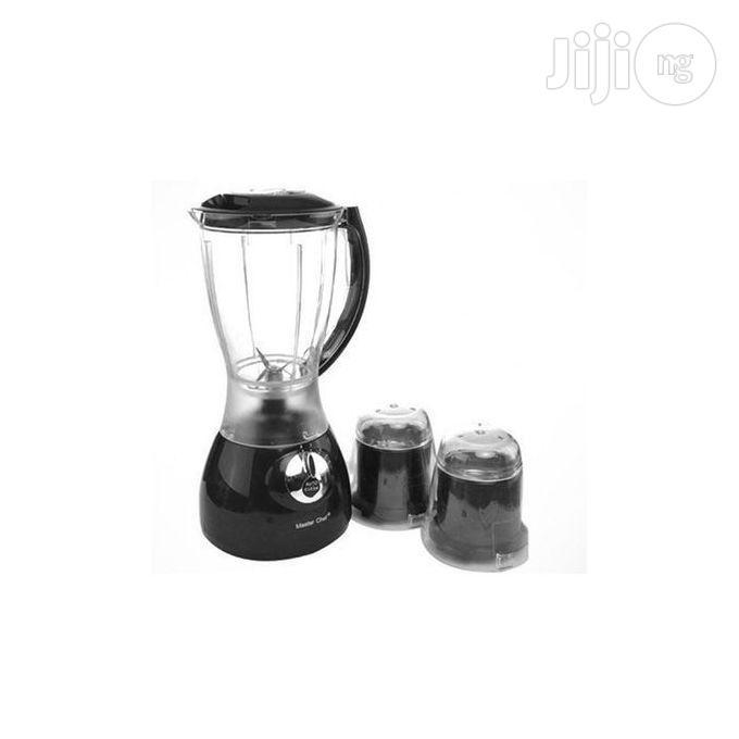Master Chef Blender/Grinder -black