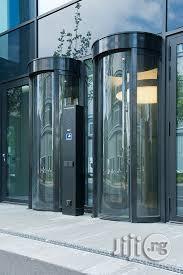 Bank Automatic Mantrap Security Door