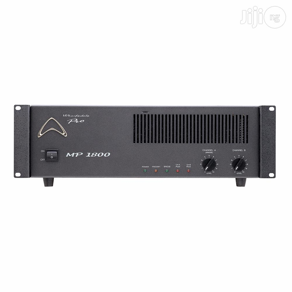 Genuine Wharfedale Pro - MP1800 High-current Power Amplifier