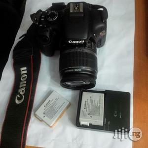 Canon EOS T2i Uk Used Camera With Two Batteries | Photo & Video Cameras for sale in Lagos State, Ikeja