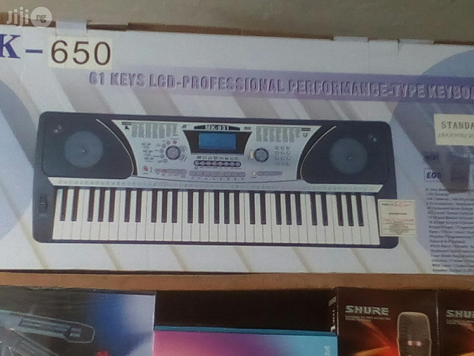 New Standard Keyboard With Rec | Musical Instruments & Gear for sale in Ikorodu, Lagos State, Nigeria