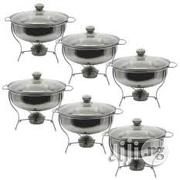 Gourmet Chaffing Dish By Three Set (2L, 4L, 6L) | Kitchen Appliances for sale in Lagos State, Lagos Island