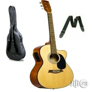 Electric Acoustic Box Guitar | Musical Instruments & Gear for sale in Lagos State, Lagos Island (Eko)
