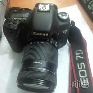 Uk Used Canon EOS 7D Camera With Lens 18-135mm | Photo & Video Cameras for sale in Lagos State, Ikeja
