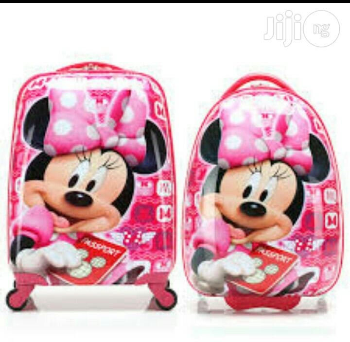 Minnie Mouse Trolley School Bag   Babies & Kids Accessories for sale in Ikeja, Lagos State, Nigeria