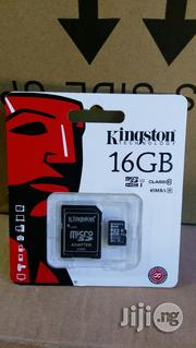 Kingston Micro Sd Card 16GB | Accessories for Mobile Phones & Tablets for sale in Lagos State, Ikeja