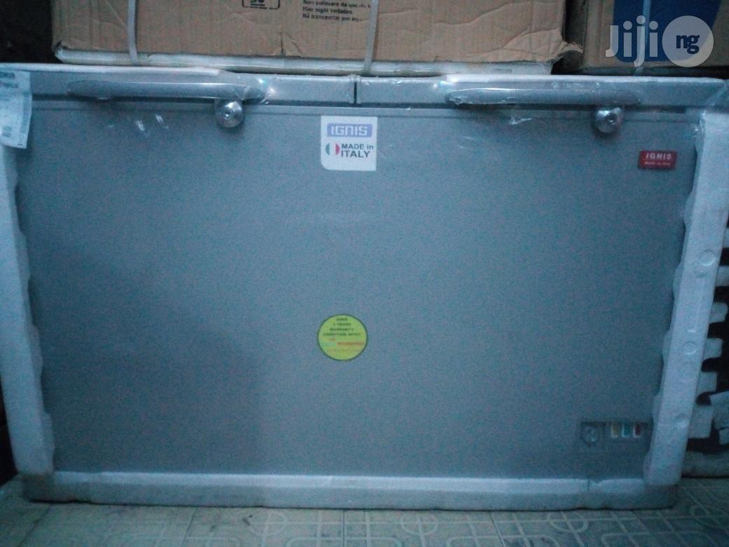 Ignis Italian Double Door Deep Freezer With 2yrs Warranty.