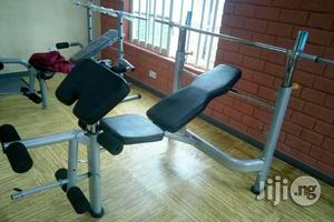 High Quality Weight Lifting Bench With 100kg | Sports Equipment for sale in Rivers State, Port-Harcourt