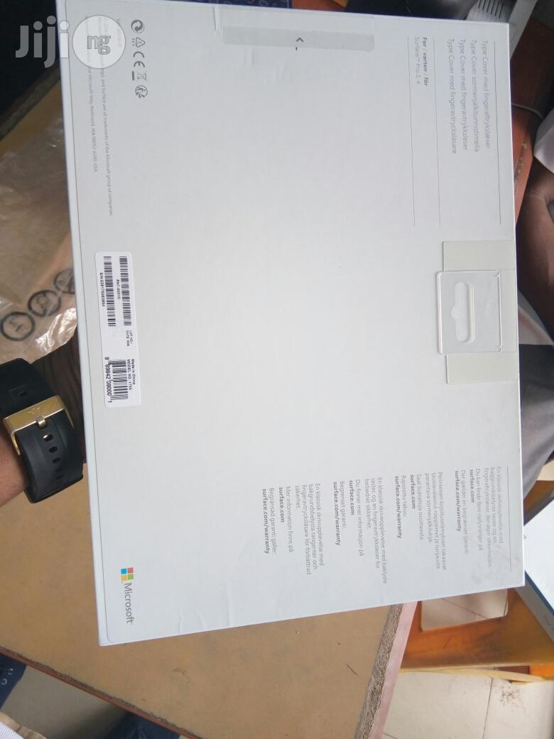 Microsoft Surface Pro 4 Keyboard With Fingerprint   Computer Accessories  for sale in Ikeja, Lagos State, Nigeria