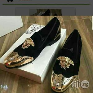Men Italian VERSACE Suede Shoe   Shoes for sale in Lagos State, Lekki
