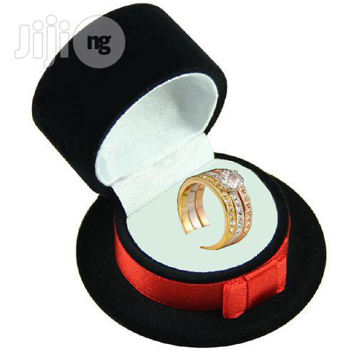 Engagement / Wedding Rings Sets Rose Gold Color
