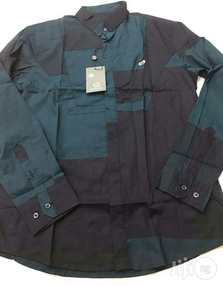 Quality Italian Men Designer Short Sleeve And Long Sleeve Shirts