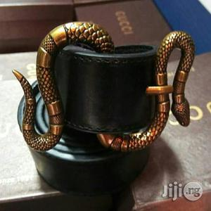 Original GUCCI BELT Snake Head With Leather | Clothing Accessories for sale in Lagos State, Lekki