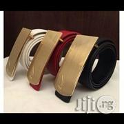 Nice Leather ZANOTTI Belt For Man | Clothing Accessories for sale in Lagos State, Surulere
