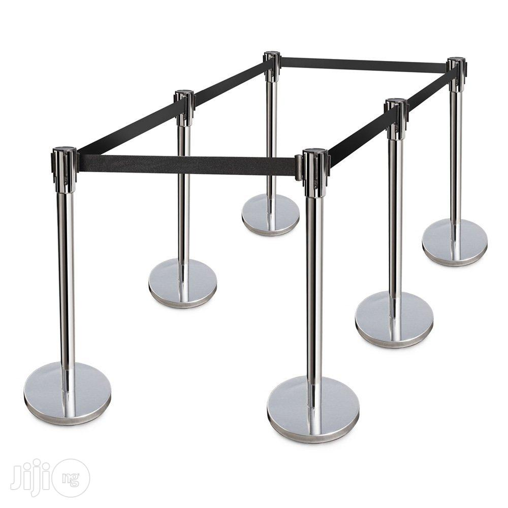 Retractable Belt Stanchions Stainless