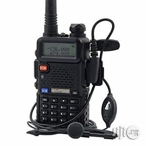 Baofeng Dual Band Two Way Radio - UV-5R - Black | Audio & Music Equipment for sale in Rivers State, Port-Harcourt