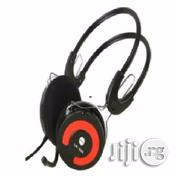 Light Wave Headset With Mic | Headphones for sale in Lagos State, Ikeja