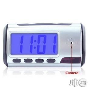 Portable Alarm Clock Spy Camera DVR With Motion Detection | Security & Surveillance for sale in Rivers State, Port-Harcourt
