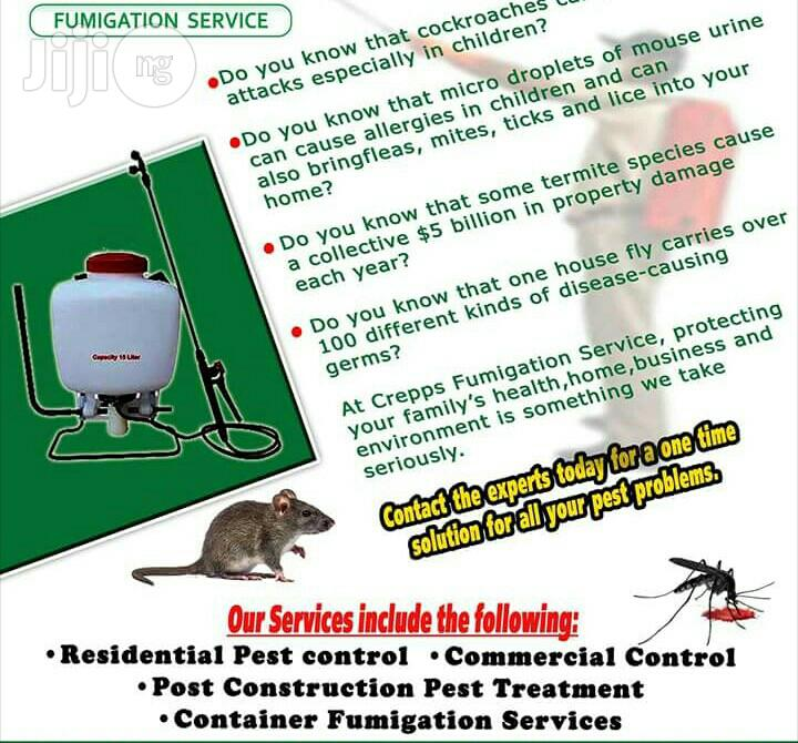 Archive: Cleaning And Fumigation Services