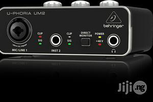 Behringer U-phoria UM2 USB Audio Interface   Audio & Music Equipment for sale in Lagos State