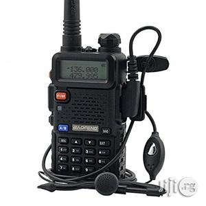 Baofeng Dual Band Two Way Radio - UV-5R - Black | Audio & Music Equipment for sale in Lagos State