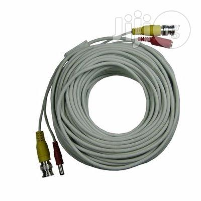 Pre-terminated 100m Video And Power BNC CCTV Cable With Connectors