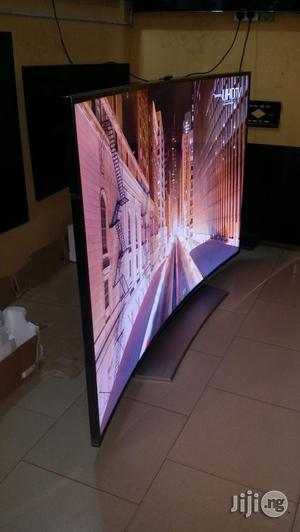 Samsung Curved Smart UHD 4K TV 55inches   TV & DVD Equipment for sale in Lagos State, Ojo
