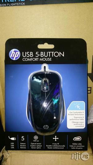 Hp USB 5-Button Comfort Mouse. | Computer Accessories  for sale in Lagos State, Ikeja