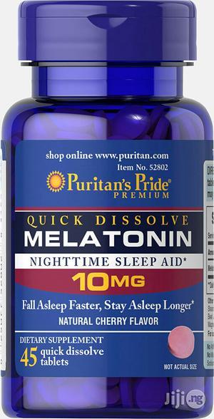 Puritans Pride Melatonin 10mg for Better Sleep Quality   Vitamins & Supplements for sale in Lagos State, Lekki