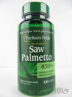 Saw Palmetto For Prostate And Stopping Hair Loss   Vitamins & Supplements for sale in Lagos State, Lekki