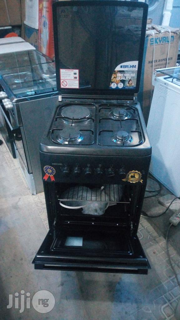 Bruhm Turkish Anti Rust 3+1 Coker, Oven Gril Wit 2yrs Wrty