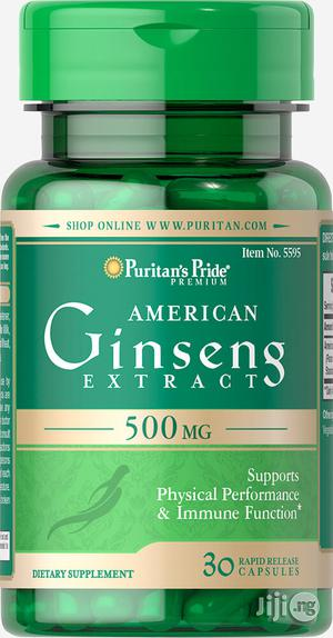 American (Panax) Ginseng for Erectile Dysfunction, Diabetes and Energy   Vitamins & Supplements for sale in Lagos State, Lekki